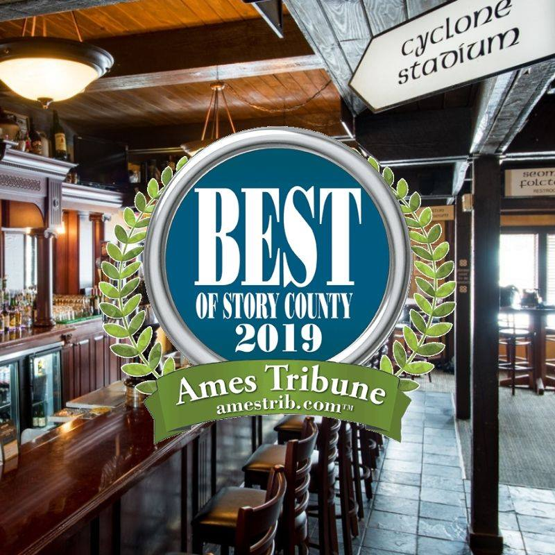 Dublin Bay Ames was voted best of story county in 2019!